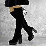 Ботфорты женские черные Brier 2335 (36 размер), фото 7