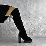 Ботфорты женские черные Brier 2335 (36 размер), фото 8