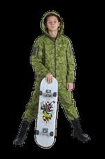 Костюм детский камуфляжный для мальчиков Скаут цвет Жабка, фото 2