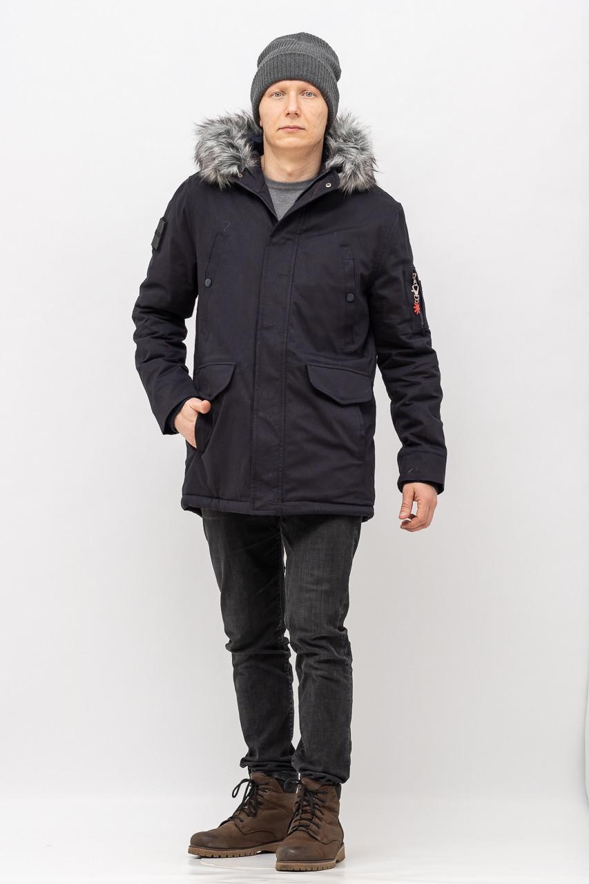 Куртка - Парка мужская ZEN-ZEN 01765 KM-765-PARKA LACIVERT