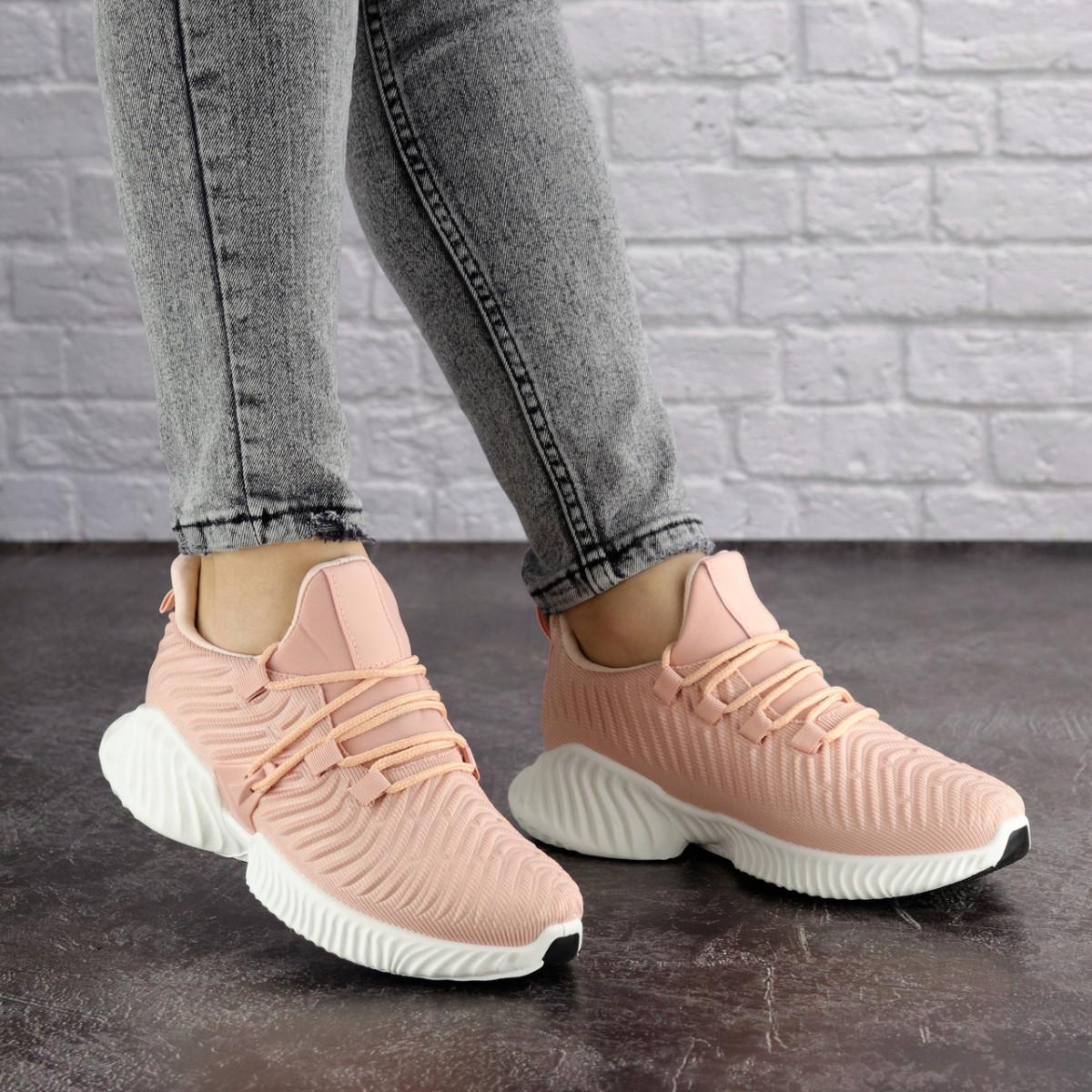Женские пудровые кроссовки Pink 1129 (39 размер)