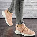 Женские пудровые кроссовки Pink 1129 (39 размер), фото 2