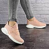 Женские пудровые кроссовки Pink 1129 (39 размер), фото 4