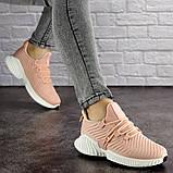Женские пудровые кроссовки Pink 1129 (39 размер), фото 5