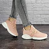 Женские пудровые кроссовки Pink 1129 (39 размер), фото 7