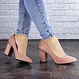 Туфли женские на каблуке розовые Beans 2131 (36 размер), фото 2