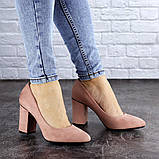 Туфли женские на каблуке розовые Beans 2131 (36 размер), фото 5