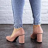 Туфли женские на каблуке розовые Beans 2131 (36 размер), фото 6