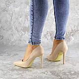Туфли женские на каблуке розовые Devin 2248 (37 размер), фото 6