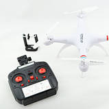 Квадрокоптер 1 million wi-fi 1000000 с камерой Pro Version Белый, фото 3