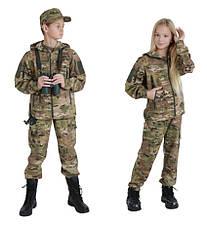 Костюм детский камуфляжный для мальчиков Скаут цвет Мультикам, фото 3