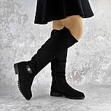 Ботфорты женские черные Maddie 2322 (38 размер), фото 5