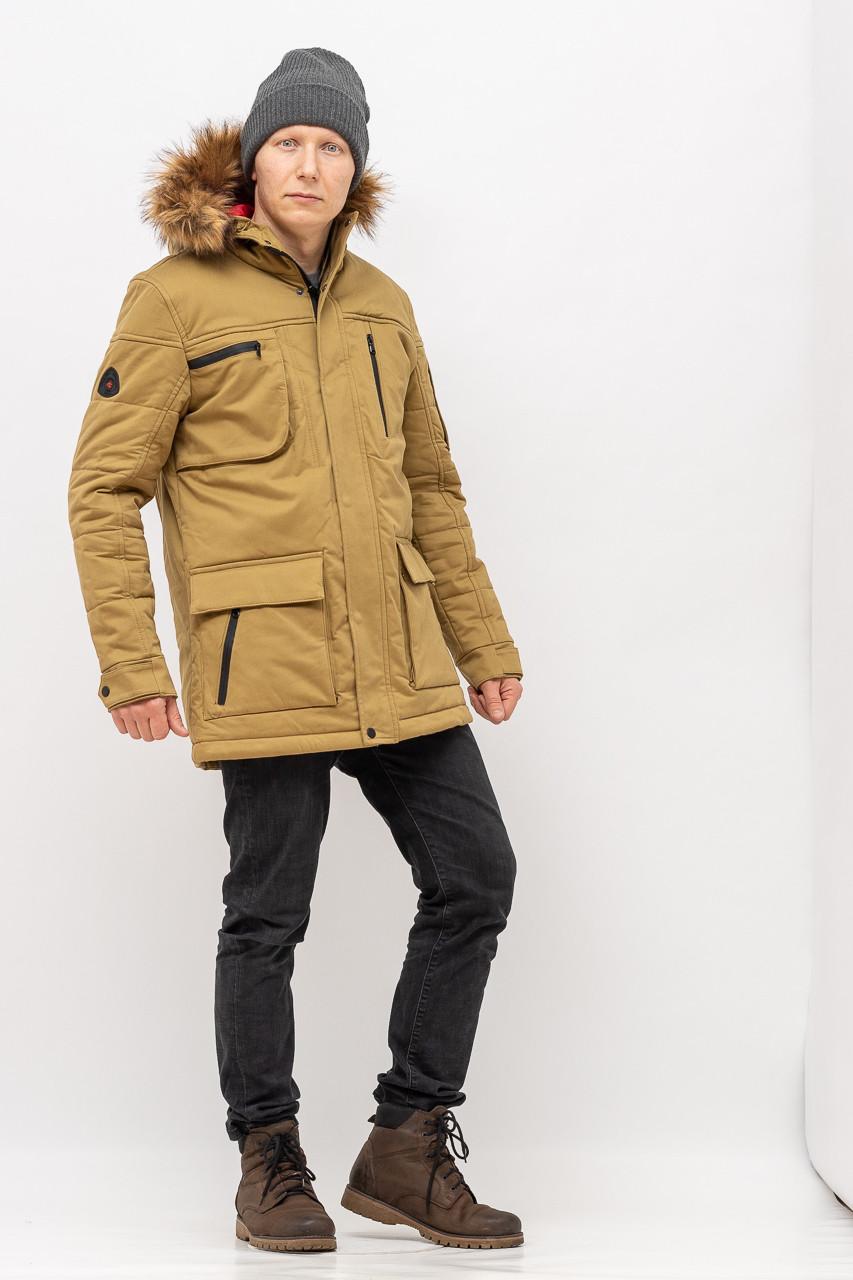 Куртка - Парка мужская ZEN-ZEN 12509 OLIVE