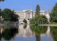 "Картина на стекле ""Букингемский дворец в Лондоне"""