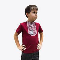 """Вишита футболка для хлопчика """"Віталік"""""""