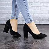 Туфли женские на каблуке черные Beans 2114 (36 размер), фото 2