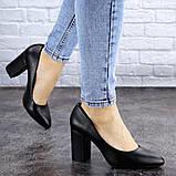 Туфли женские на каблуке черные Beans 2129 (36 размер), фото 4