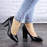 Туфли женские на каблуке черные Beans 2129 (36 размер), фото 6