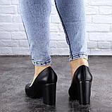 Туфли женские на каблуке черные Beans 2129 (36 размер), фото 7