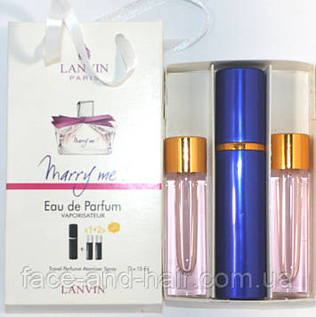 Lanvin Marry Me edp 3x15ml - Trio Bag