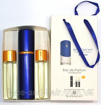 Givenchy Blue Label edt 3x15ml - Trio Bag