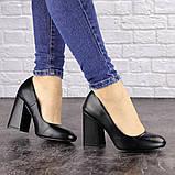 Туфли женские на каблуке черные Cahill 1521 (36 размер), фото 7