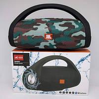 Портативная bluetooth колонка влагостойкая JBL Boombox B9 mini FM, MP3, радио Камуфляж