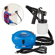 Краскораспылитель краскопульт пульверизатор электрический ручной профессиональный Paint Zoom Синий