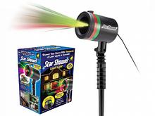 Лазерный проектор гирлянда установка Star shower Laser Light (324589711)