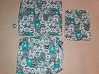 Детское постельное белье - комплект сменного белья 3 в 1