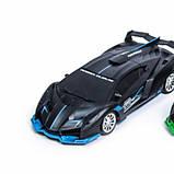 Машинка Lamborghini на пульте управления 96-4A Синяя, фото 3