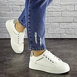 Женские белые кроссовки Blacky 1660 (38 размер), фото 3
