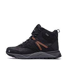Мужские зимние кожаные ботинки MERRELL Black