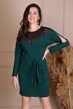 Модне жіноче плаття,розміри:44,46,48,50,52,54., фото 4