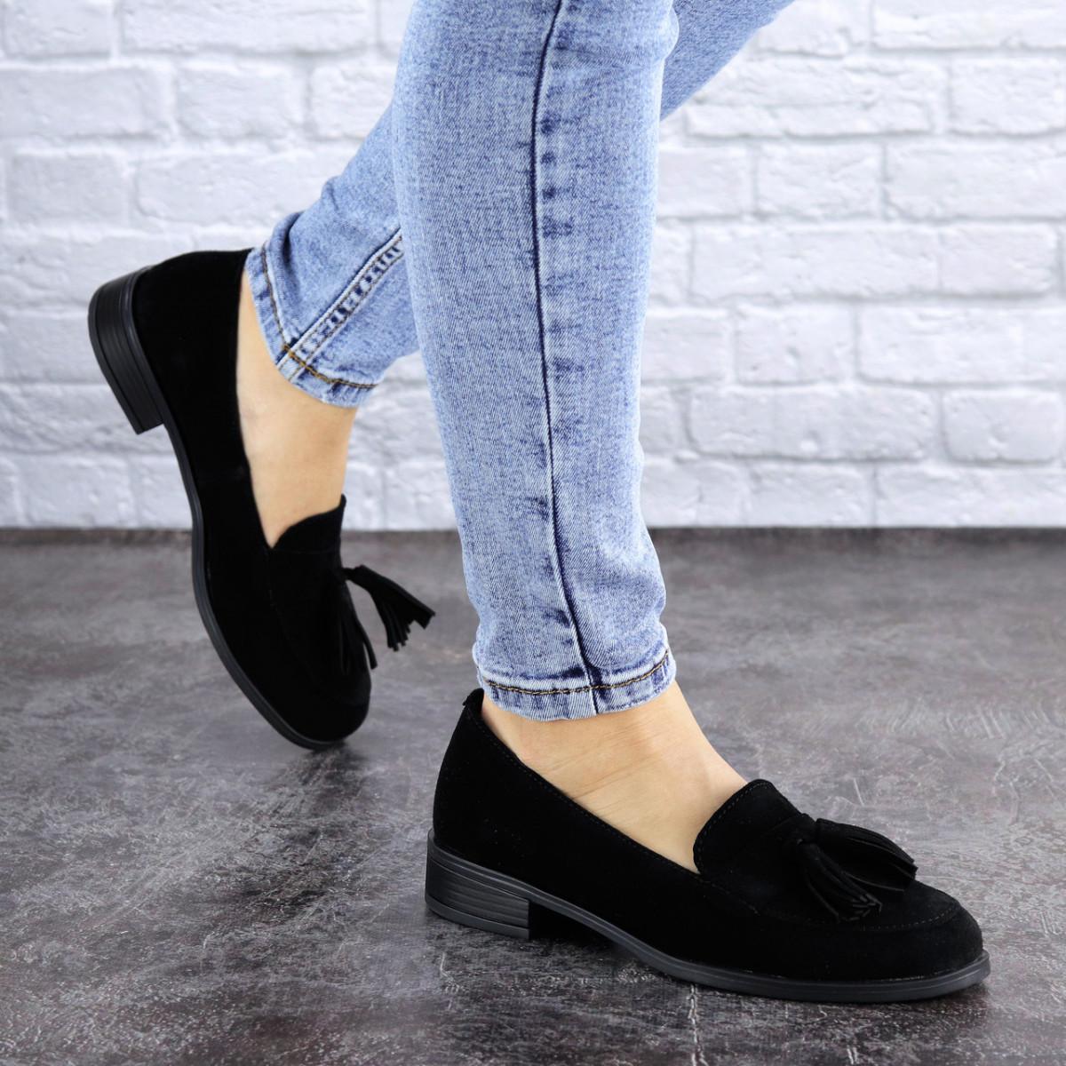 Туфли женские черные Evita 2124 (36 размер)