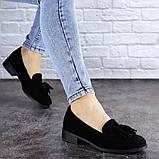 Туфли женские черные Evita 2124 (36 размер), фото 3