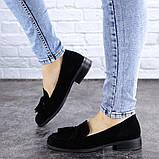 Туфли женские черные Evita 2124 (36 размер), фото 4