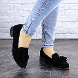 Туфли женские черные Evita 2124 (36 размер), фото 5