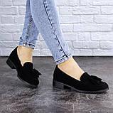 Туфли женские черные Evita 2124 (36 размер), фото 6