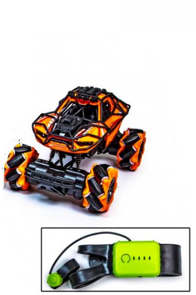 Машинка-багги с управлением от руки 925 Оранжевая