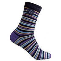 Носки водонепроницаемые Dexshell Ultra Flex Socks Stripe XL в полоску, КОД: 1566841