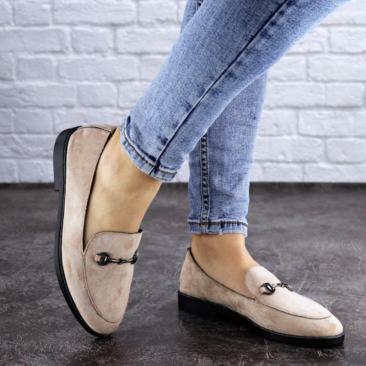 Женские туфли бежевые Fido 1984 (36 размер)