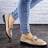 Женские туфли бежевые Fido 1984 (36 размер), фото 2