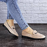 Женские туфли бежевые Fido 1984 (36 размер), фото 3