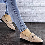 Женские туфли бежевые Fido 1984 (36 размер), фото 4