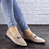 Женские туфли бежевые Fido 1984 (36 размер), фото 6