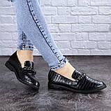 Туфли женские черные Nino 2063 (35 размер), фото 6