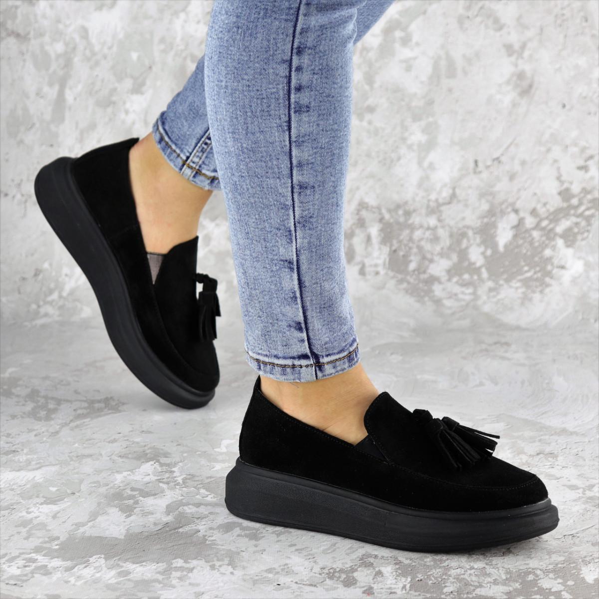 Туфли женские черные Pansy 2142 (37 размер)