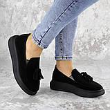 Туфли женские черные Pansy 2142 (37 размер), фото 2