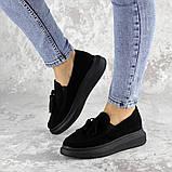 Туфли женские черные Pansy 2142 (37 размер), фото 3